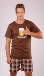 Pánské pyžamo šortky Vienetta Secret Pivo