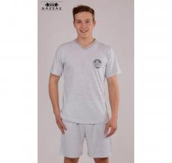 Pánské pyžamo šortky Vienetta Secret Speed výprodej