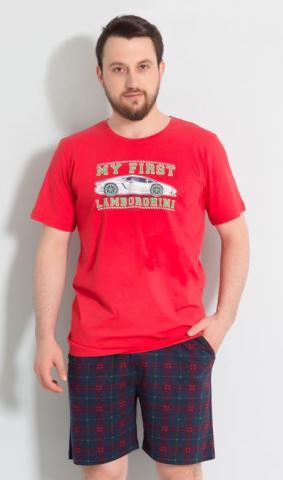 Pánské pyžamo šortky Vienetta Secret Sporťák