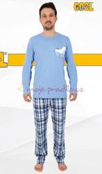 Pánské pyžamo Vienetta Secret Medvěd ospalec