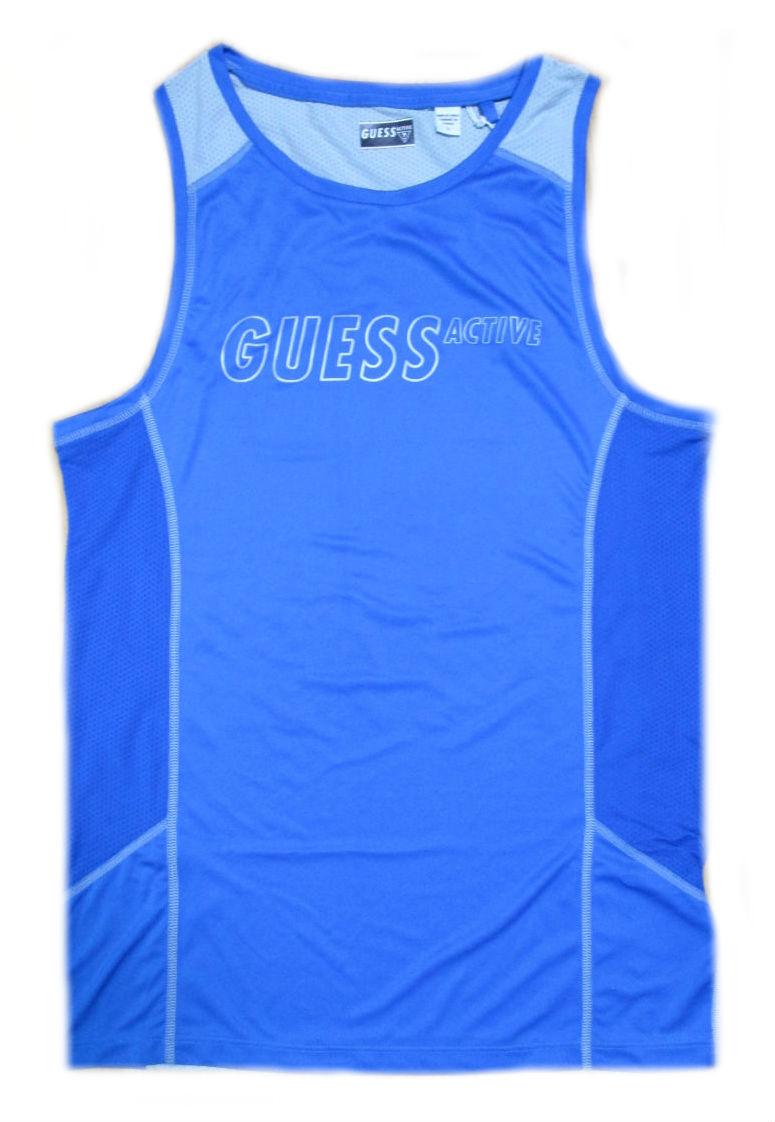 Pánské sportovní tílko Guess U74A03 - GUESS (Akce a slevy) a21d9f03342