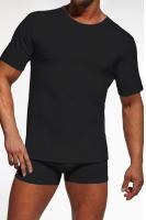 Pánské tričko Cornette 202 černé