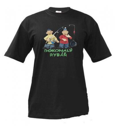 Pánské tričko Pat a Mat Rybář - dokonalý rybář