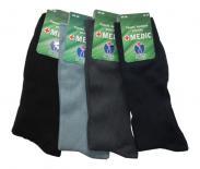 Pánské zdravotní ponožky Novia Medic 100% bavlna