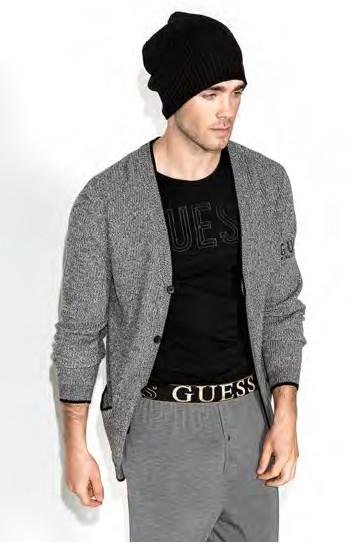 Pánský svetr Guess U64R04 - GUESS (pánské - Sportovní oblečení) ac682a0792d