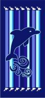 Plážová osuška Delfín pruhy