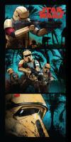 Plážová osuška Star wars Stormtroopers