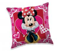 Polštářek Minnie hearts 02