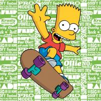 Polštářek Simpsons Bart 2016