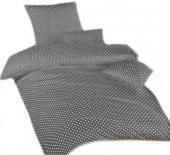Povlečení bavlna Puntík šedý