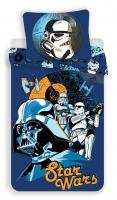 Povlečení bavlna Star Wars blue