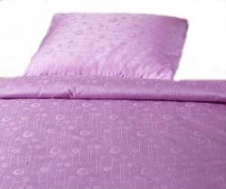 Povlečení damašek Bohema - Luční květy fialové