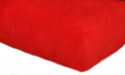Prostěradla jersey - červená