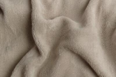 Prostěradlo mikroflanel kikko šedé