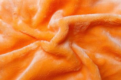 Prostěradlo mikroflanel oranžová (svítivě)