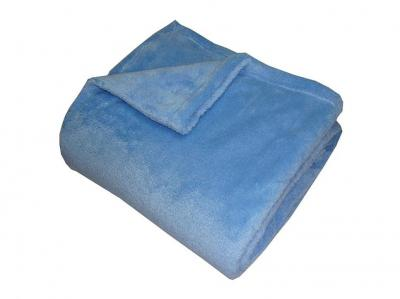 Super soft deka Dadka modrá