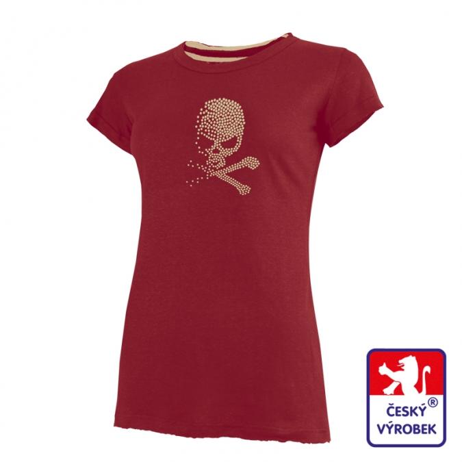 2e9e7bf2f1 Dámské bambusové tričko kr. rukáv Suspect Animal potisk Shadow ...