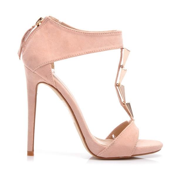 Dámské světle růžové sandály Belle Women YK8281P - BELLE WOMEN ... 1c31e265ea