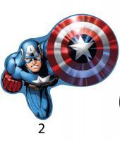 Tvarovaný plněný polštářek Avengers