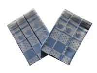 Utěrka Extra savá 50x70 Konvička/puntík modrá  - 3 ks