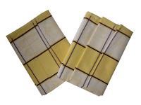 Utěrka Extra savá Čajová souprava žlutá - 3 ks