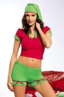 Vánoční kostým Obsessive Elf
