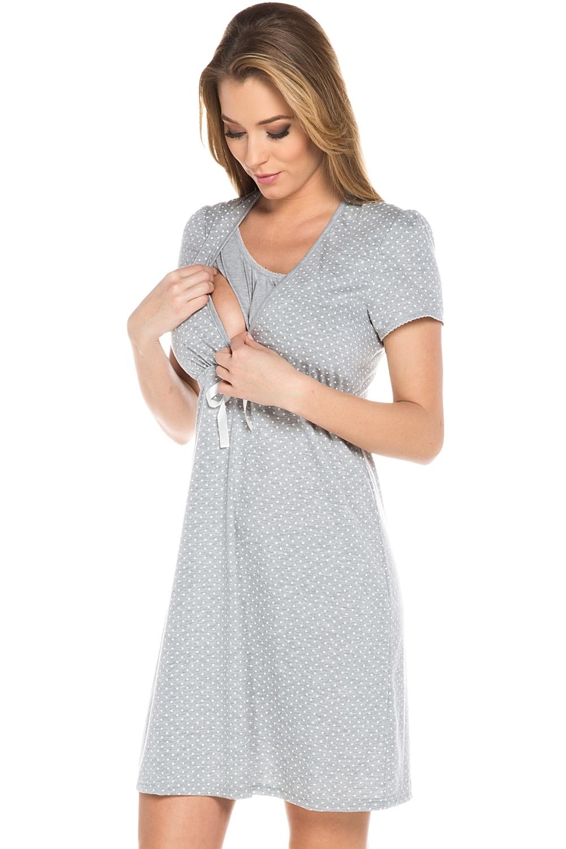Dámská kojící košile Italian Fashion Radosc šedá