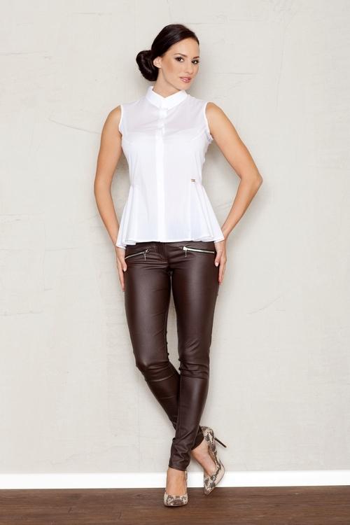 Dámská košile FIGL M357 bílá