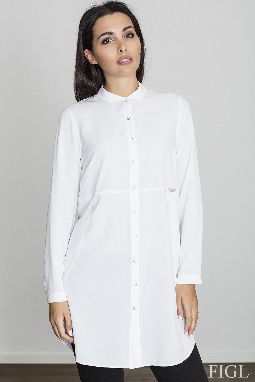 Dámská košile Figl M545 bílá