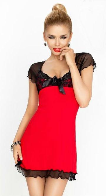 Dámská košilka DKaren Irina červená