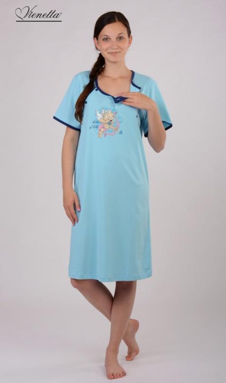 Dámská mateřská noční košile Vienetta Secret Amor