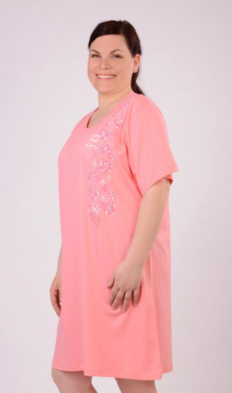 Dámská nadměrná noční košile Vienetta Secret Květena