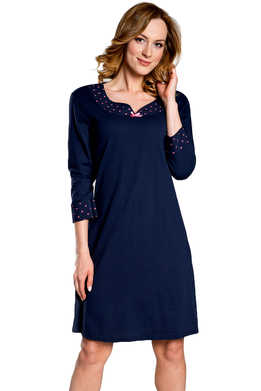 Dámská noční košile Italian Fashion Damia modrá