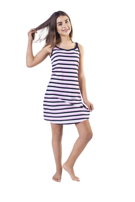 Dámská noční košile Italian Fashion Rachel pink-blue