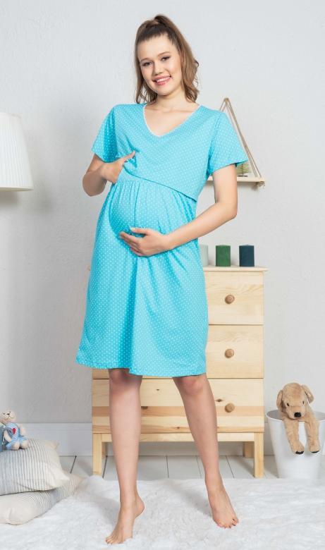 Dámská noční košile mateřská Vienetta Secret Leona