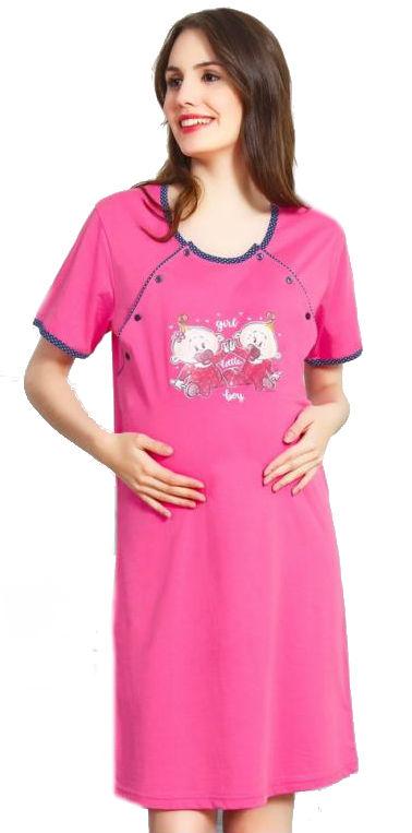 Dámská noční košile mateřská Vienetta Secret Batolata