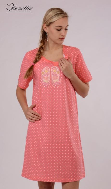 Dámská noční košile mateřská Vienetta Secret Boty