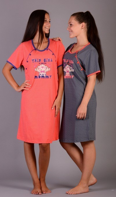 Dámská noční košile mateřská Vienetta Secret Girl