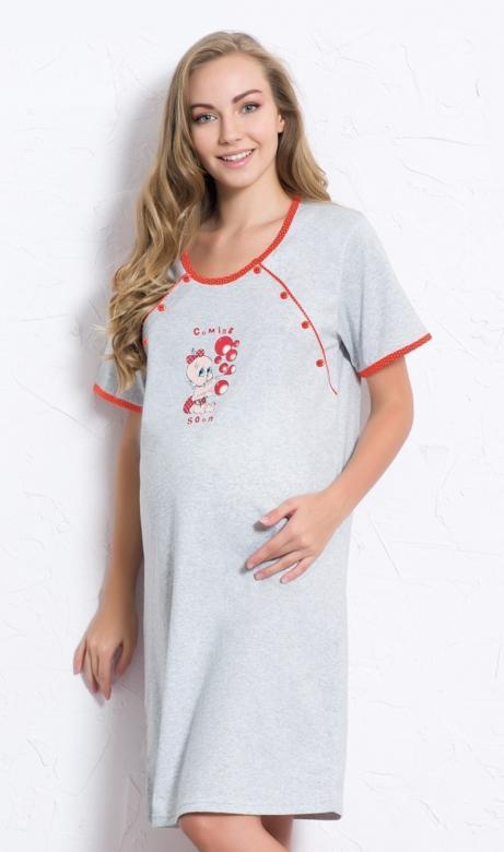 Dámská noční košile mateřská Vienetta Secret Miminko