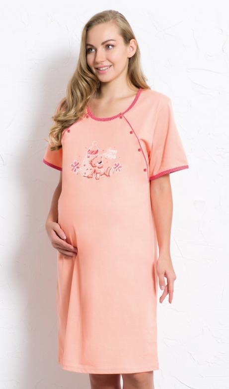 Dámská noční košile mateřská Vienetta Secret Míša
