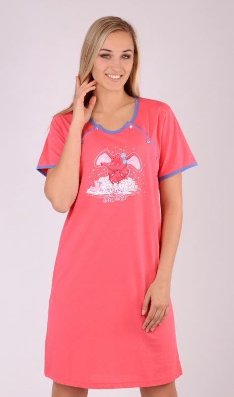 Dámská noční košile mateřská Vienetta Secret Slůňe