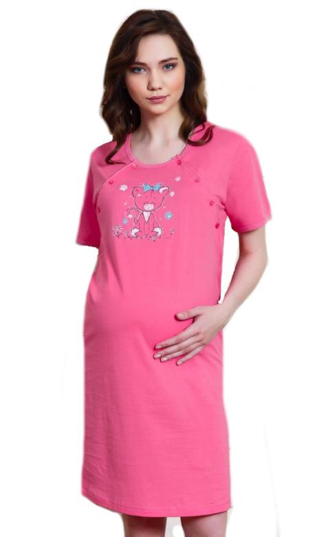Dámská noční košile mateřská Vienetta Secret Tygřík
