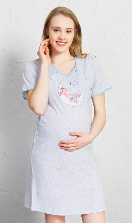 Dámská noční košile mateřská Vienetta Secret Zajíček