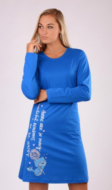 Dámská noční košile s dlouhým rukávem Vienetta Secret Angelina