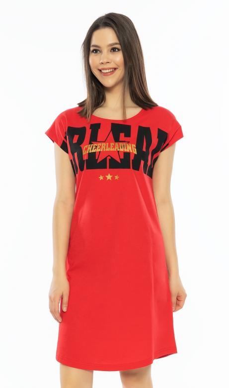 Dámská noční košile Vienetta Secret Cheerleading