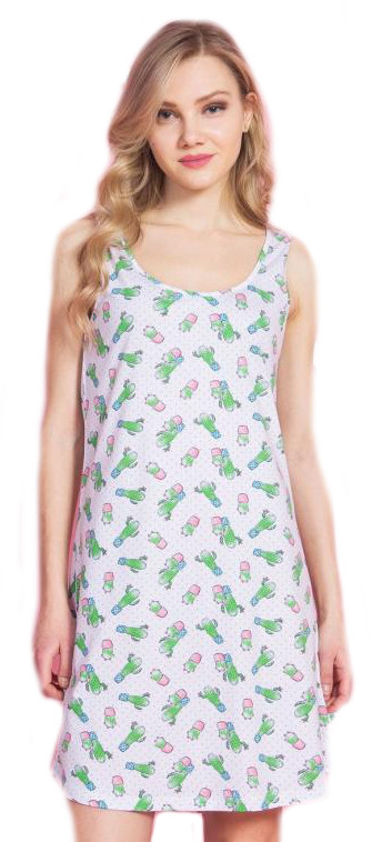 Dámská noční košile Vienetta Secret Kaktus