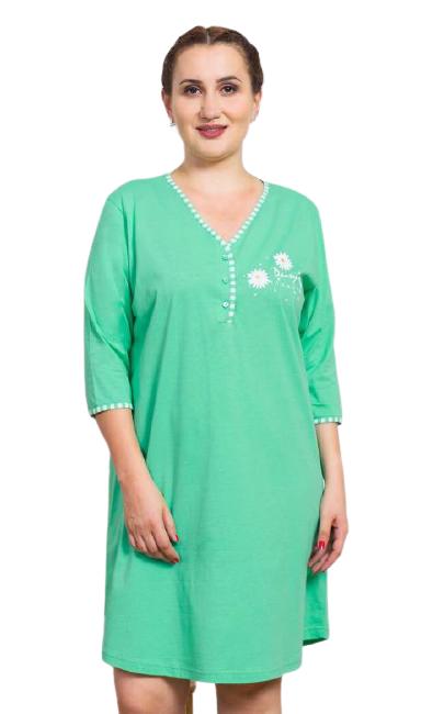 Dámská noční košile Vienetta Secret Kopretiny
