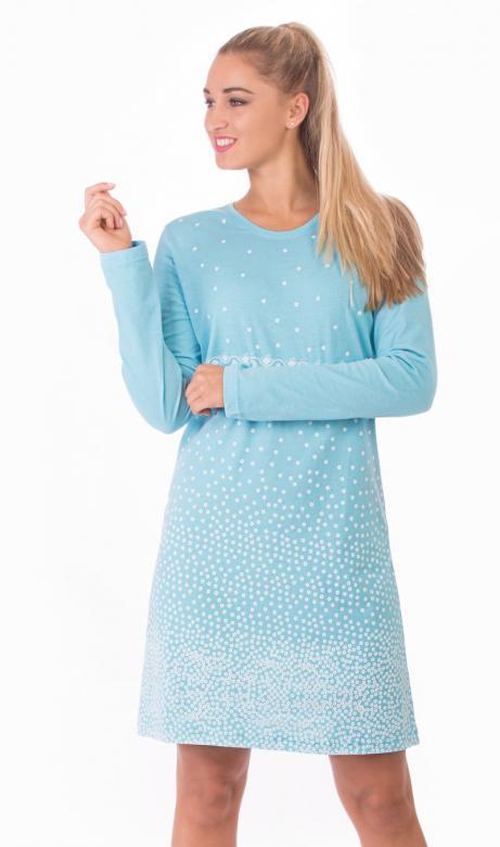 Dámská noční košile Vienetta Secret Malé vločky