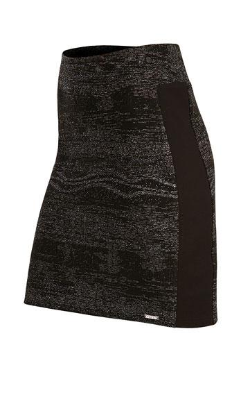 Dámská sukně do pasu Litex 51008 černá