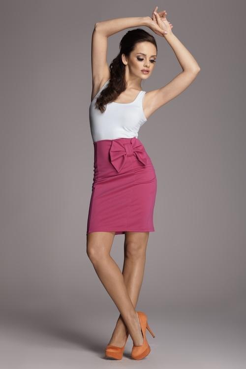 Dámská sukně FIGL M080 pink